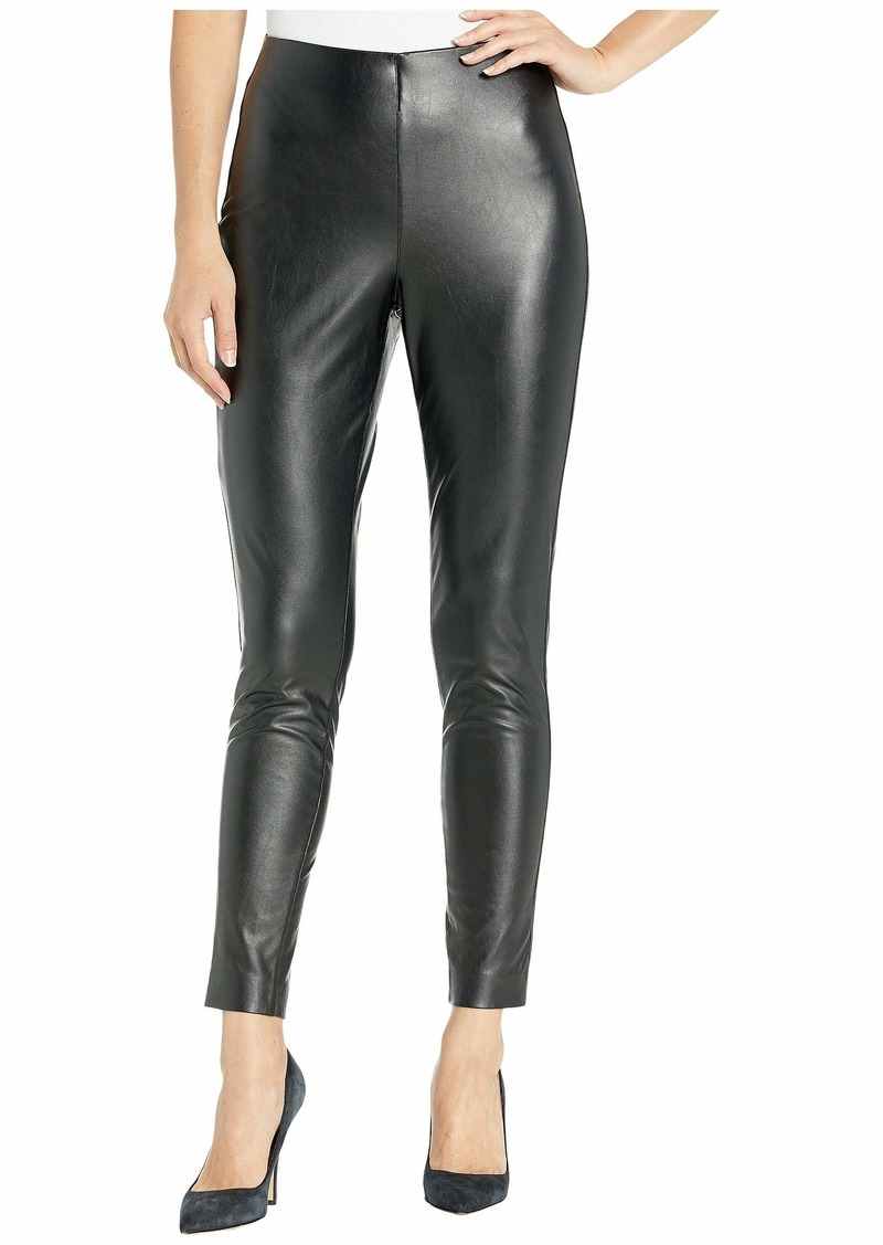 Vince Camuto Stretch Pleather Pull-On Pants