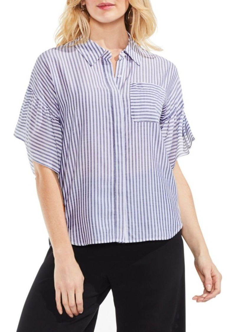 Vince Camuto Striped Button-Down Shirt