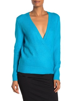Vince Camuto Surplice Neck Wrap Sweater