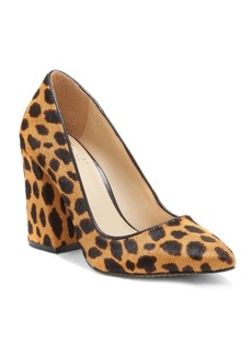 Vince Camuto Talise Flared Calf Hair Pumps