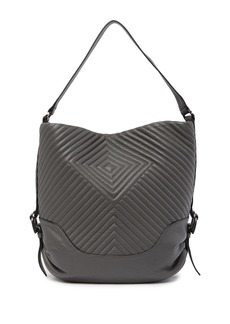 Vince Camuto Tave Quilted Leather Hobo Bag