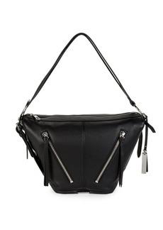 Vince Camuto Textured Leather Shoulder Bag
