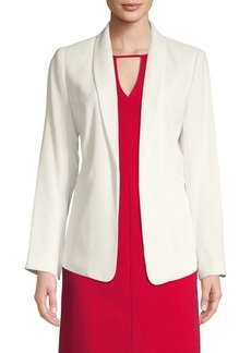 Vince Camuto Textured Open-Front Blazer