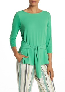Vince Camuto Tie Front 3/4 Sleeve Top