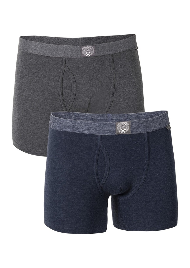 Vince Camuto Triblend Heathered Boxer Briefs - Pack of 2