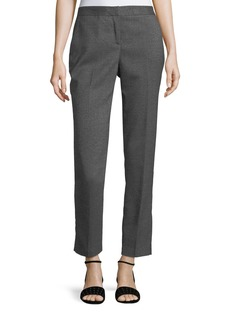 Tweed Skinny Ankle Pants