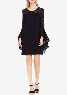 Two By Vince Camuto Bell-Lace-Sleeve Sheath Dress