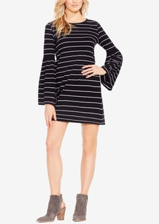 Two By Vince Camuto Bell-Sleeve Cotton Shift Dress
