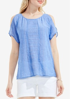 Two by Vince Camuto Cold-Shoulder Top