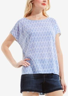 Two by Vince Camuto Cotton High-Low Top