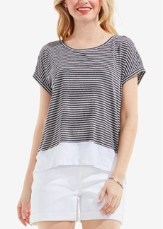 Two by Vince Camuto Layered-Look Top