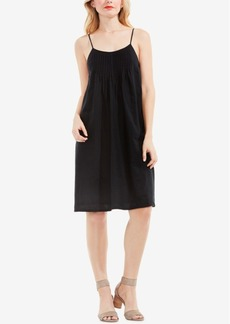 Two by Vince Camuto Pintucked Shift Dress