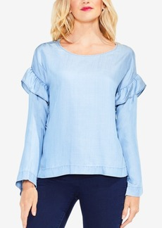 Vince Camuto Ruffle-Sleeved Blouse