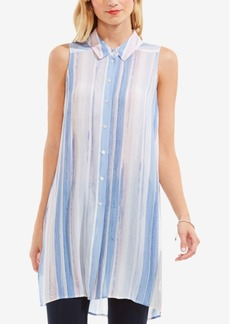 Two by Vince Camuto Striped Tunic Shirt