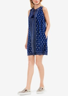 Two by Vince Camuto Tassel-Tie Shift Dress