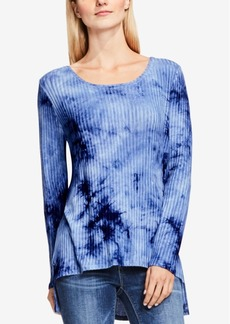 Two by Vince High-Low Tie-Dyed Top