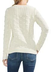 4f21d2c6fb98 Vince Camuto Vince Camto Popcorn Stitch Cotton Sweater