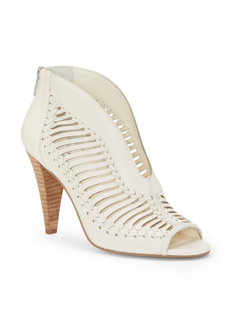 Vince Camuto Acha Cutout Peep Toe Bootie (Women)