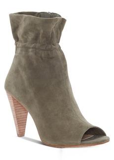 Vince Camuto Addiena Smocked Cone-Heel Booties Women's Shoes