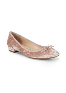 Vince Camuto Adema Crushed Velvet Flats