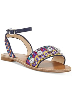 Vince Camuto Akitta Embellished Flat Sandals Women's Shoes