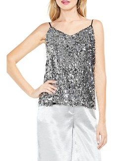 Vince Camuto Allover Sequin Camisole Top