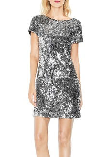 Vince Camuto Allover Sequin Dress