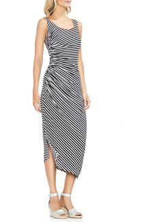 Vince Camuto Amalfi Side Ruched Stripe Bodycon Dress
