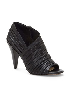 Vince Camuto Anara Ruched Peep Toe Bootie (Women)
