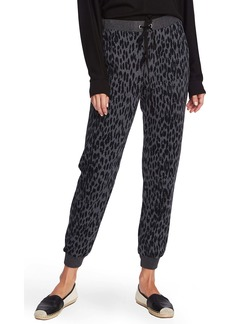Vince Camuto Animal Notes French Terry Joggers