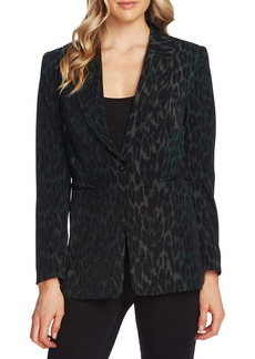 Vince Camuto Animal Phrases Blazer