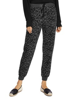 VINCE CAMUTO Animal-Print Jogger Pants