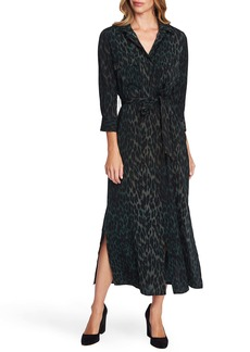 Vince Camuto Animal Print Shirtdress