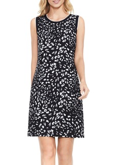 Vince Camuto Animal Whispers A-Line Dress