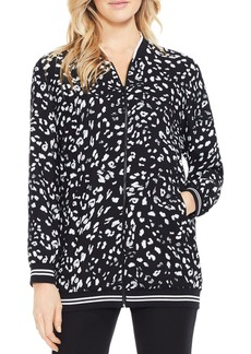 VINCE CAMUTO Animal Whispers Bomber Jacket