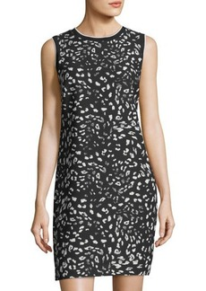 Vince Camuto Animal Whispers Shift Dress