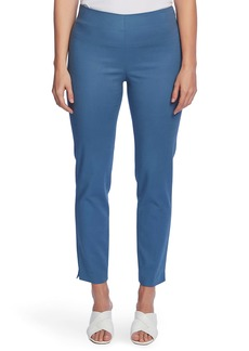 Vince Camuto Ankle Vent Stretch Cotton Blend Trousers