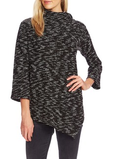 Vince Camuto Asymmetrical Nubby Knit Top