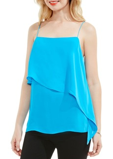 Vince Camuto Asymmetrical Overlay Camisole