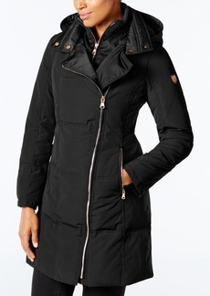 Vince Camuto Asymmetrical Puffer Coat, A Macy's Exclusive