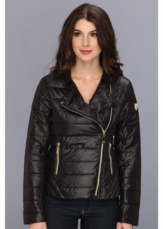 Vince Camuto Asymmetrical Stand Collar Down Jacket