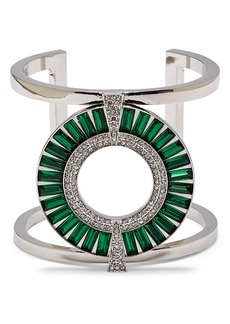 Vince Camuto Baguette Crystal Statement Cuff