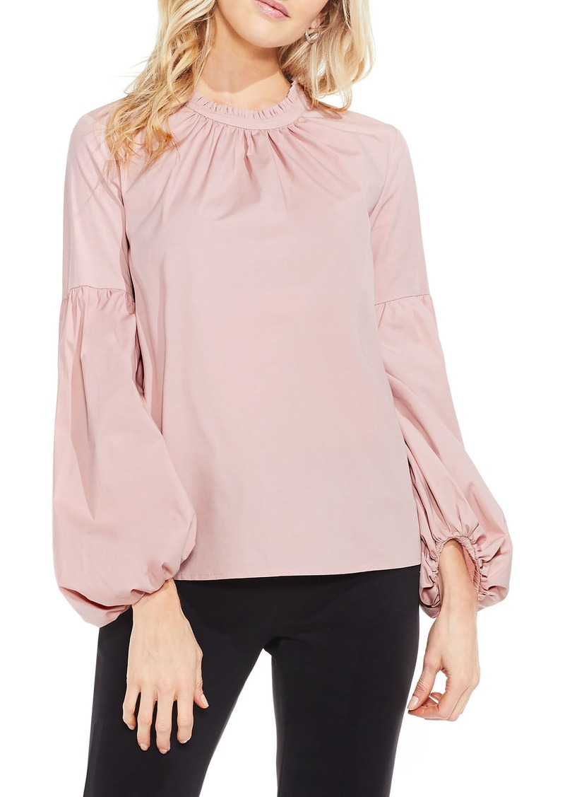 Vince camuto vince camuto balloon sleeve blouse regular for Vince tee shirts sale