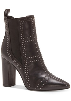 Vince Camuto Basila Studded Ankle Booties Women's Shoes