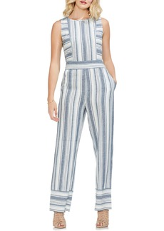 Vince Camuto Beach Stripe Jumpsuit