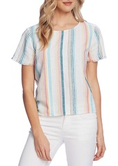 Vince Camuto Beach Stripe Top (Regular & Petite)