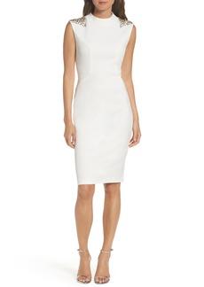 Vince Camuto Beaded Sheath Dress