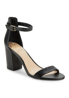 Vince Camuto Beah Leather Block Heel Sandals