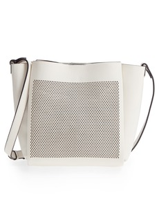 Vince Camuto Beatt Perforated Leather Bucket Bag