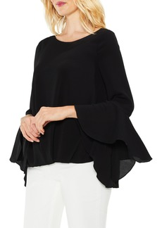 Vince Camuto Bell Cuff Foldover Blouse